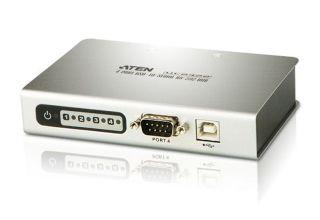 CONVERTER 4 PORT USB => RS-232 Hub