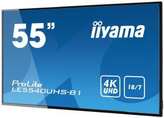 ECRAN 55' AFFICHAGE DYNAMIQUE PAYSA GE 4K 3840x2160 dalle AMVA3 sans ventilation motorisee
