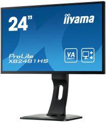 ECRAN LED 24' VGA/DVI/HDMI NOIR
