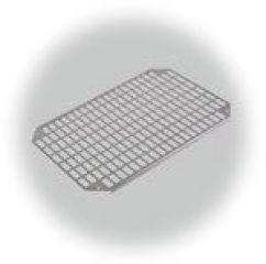 PLATINE DE MONTAGE PERFOREE ACIER  GALVANISE Pour dimension 400x300x150/210