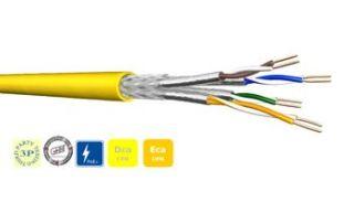 CABLE S/FTP 4P LSZH CAT8.2 DCA 500m  TOURET UCFUTURE COMPACT22 Cat8.2 S/FTP 4P 2GHz 500DW