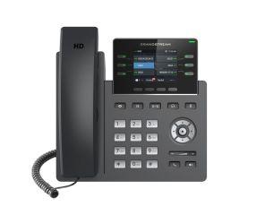 TELEPHONE IP 3 COMPTES SIP POE  AVEC ALIM