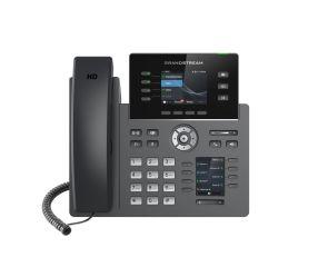 TELEPHONE IP POE AVEC ALIM WIFI BLU ETOOTH GIGA 2 x 10/100 Mbps / Ecran LCD 2,8' / 12 Touches