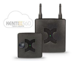 STARTERSET 1 BASIC LAN RADIO ZIGBEE  GSM NOIR ALARMMANAGER + MULSENSOR RF