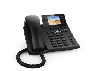 TEL IP PRO 12 COMPTES SIP / USB POE  2 PORTS GIGA 8 TOUCHES  / ECRAN COULEUR  POE          Ref 4390