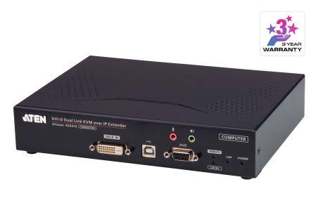 EMETEUR KVM 2K DVI-D DUAL LINK  SUR IP