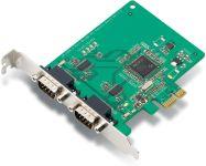 CARTE SERIE UNIV. PCI-E 2 X RS232
