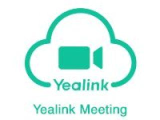 LICENCE YEALINK MEETING CLOUD 3.0 S TANDARD 1 AN JUSQU'A 100 PARTICIPANTS DUREE IMIMITEE 1GO ENR