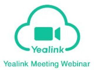 LICENCE YEALINK CLOUD WEBINAR 1MOIS  500 USERS YC-Webinar-500-MONTH