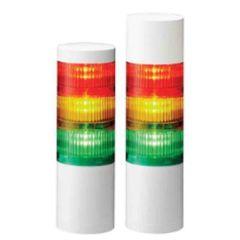LED Signal Tower 60mm dia, 24V DC, Flashing, Buzzer, Terminal