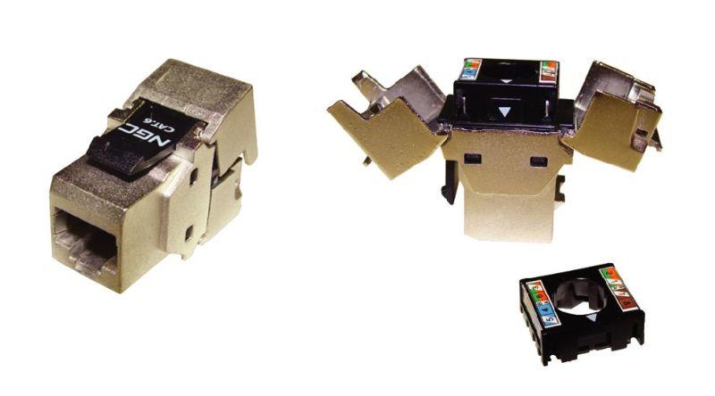 connecteur rj45 cat 6 blinde v2 cablage sans outil achat. Black Bedroom Furniture Sets. Home Design Ideas