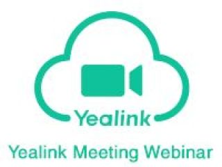 LICENCE YEALINK CLOUD WEBINAR 1MOIS  1000 USERS YC-Webinar-1000-MONTH
