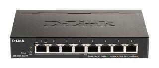 COMMUTATEUR 8 PORTS POE GIGA SMART 64W POUR 8 PORTS/802.1Q VLAN- 802.1p QoS- IGMP