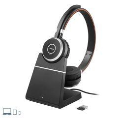 CASQUE JABRA EVOLVE 65 MS BINAURAL Bluetooth