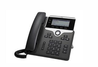 CISCO IP PHONE 7821 Telephone VoIP - SIP, SRTP - 2 lignes