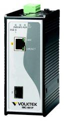 CONVERTISSEUR MEDIA 1*POE + 1*SFP 1port IEEE 802.3at PoE Plus + 1slot 100FX/Giga SFP
