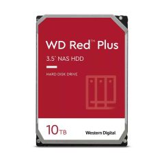 DD WD RED+ 10To 3,5' SATA/600 256Mo  NAS 5400 TR/M PRECONISE POUR LE RAID