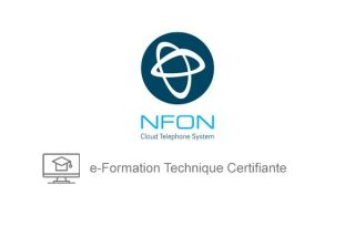 PACK DE FORMATION EN LIGNE BASIC + ADVANCE + CERTIFICATION NFON SOIT 5H DE FORMATION