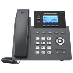 TELEPHONE IP 6 COMPTES SIP POE 2 ports GIGA / Ecran LCD 2,4' / 4 Touches