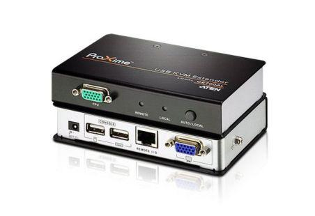 AMPLI LIGNE CLAV USB+ECRAN VGA RJ45 1280x1024 MAX
