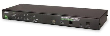 COMMUT USB 1 KVM => 16 CPU USB 1U