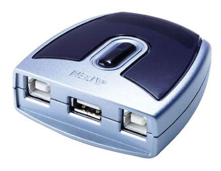 COMMUT MANUEL USB2.0 2 UC A 1 PERIP MAC ET PC UTILISER DES CORDON 4A4B