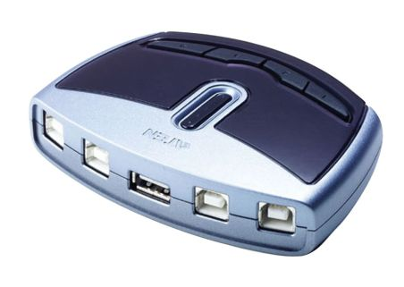 COMMUT MANUEL USB2.0 4 UC A 1 PERIP MAC ET PC