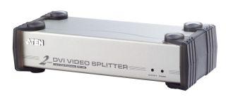 MULTIPLIEUR DE SORTIES DVI(1E/2S) AUDIO / MAC/PC/LECTEUR DVD / 1600X1200