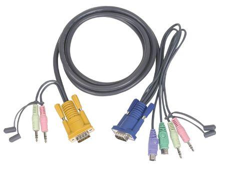 CORDON PS/2 1,80M + AUDIO CS1732A/CS1734A/CS1754/CS1758