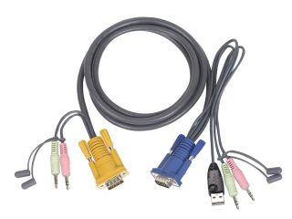 CORDON USB 1,80M + AUDIO CS1732C/CS1734C/CS1754/CS1758