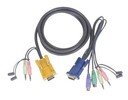 CORDON PS/2 5M + AUDIO CS1732A/CS1734A/CS1754/CS1758