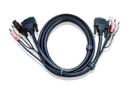 CORDON USB DVI 5M PR CS1762/CS1764