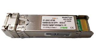 1GB-SX SFP SHORT HAUL FIBERMODULE MULTI-MODE NO C ABLE