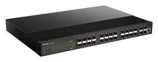 SWITCH INDUSTRIEL L2 24 PORTS 24 ports SFP + 4 ports SFP+ - Rackable 19''
