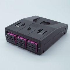 Cassette 12 ports SC MULTIMODE  VIOLET S'adapte sur NGC2201