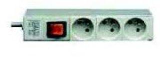 BANDEAU ALIM 10' 3P + INTER 10/16A 250V / CORDON 2M