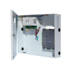 CENTRALE ICP-IP 2 LECTEURS  50000 USERS EN COFFRET MURAL AVEC ALIMENTATION 220V 5A