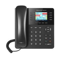TELEPHONE IP 4 COMPTES SIP 8 EXTENS 2 PORTS RESEAU GIGA POE / ECRAN LCD 2,8'