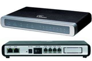PASSERELLE VOIP 4-FXO/2-Ethernet ADAPTATEUR ATA