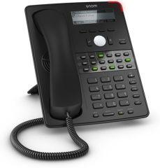 SNOM D725 TELEPHONE SIP 12 COMPTES  POE / 1 USB 18 TOUCHES / ECRAN / MAINS LIBRES / GIGA / Ref3916