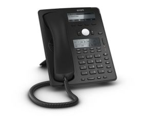 SNOM D745 TELEPHONE SIP 12 COMPTES  POE 1 USB 8 TOUCHES LCD / MAINS LIBRES / GIGA     Ref4259