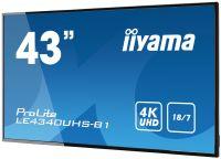 """ECRAN LED 43"""" 4k DVI/2xHDMI"""
